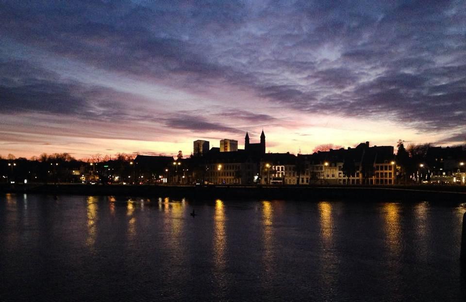 Sunday night in December – Maastricht