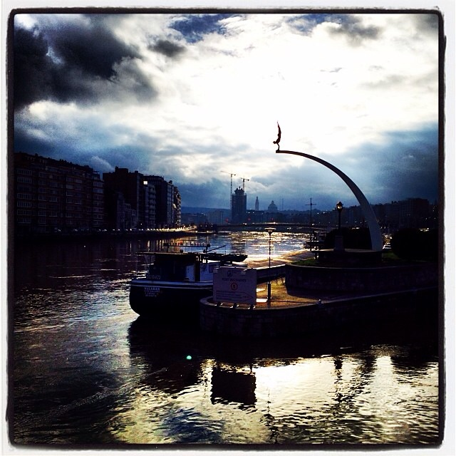 On the water… La Meuse, Liege