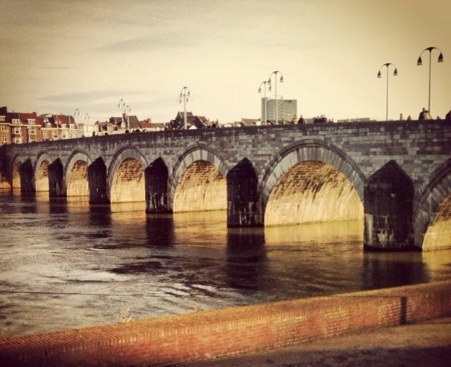 On the bridge… Sint Servaasbrug, Maastricht