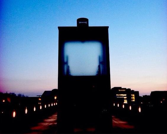On the bridge… Hoge Brug elevator, Maastricht